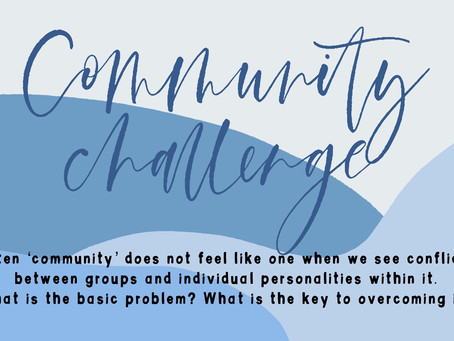 What prevents us from being a truly authentic community?