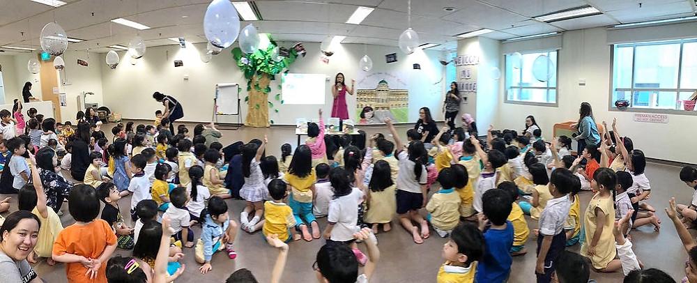 School visits | Lianne Ong