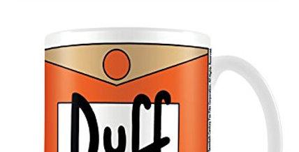 The Simpsons Duff Beer Coffee Mug (Ceramic)