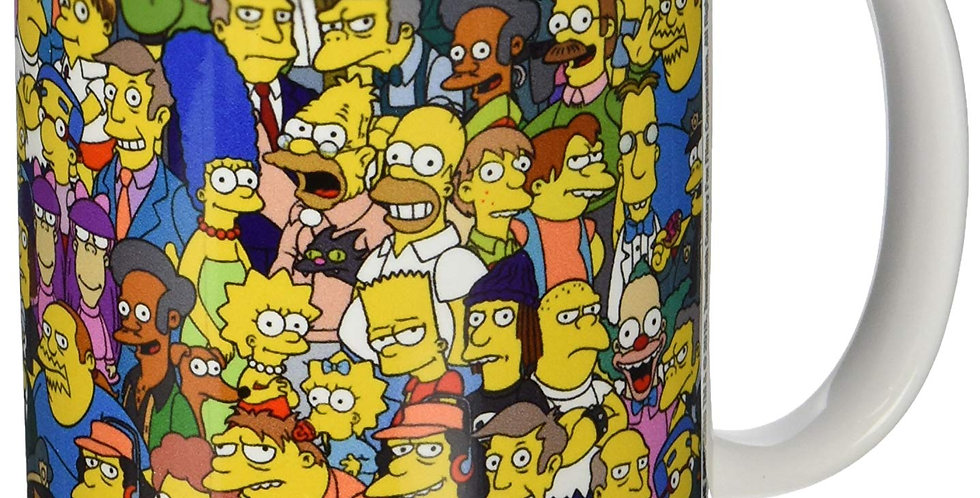 The Simpsons Official Boxed Ceramic Coffee Mug