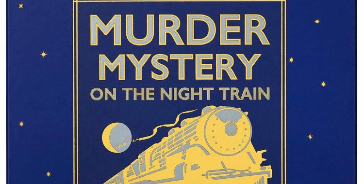Murder Mystery Dinner Party Game: The Night Train