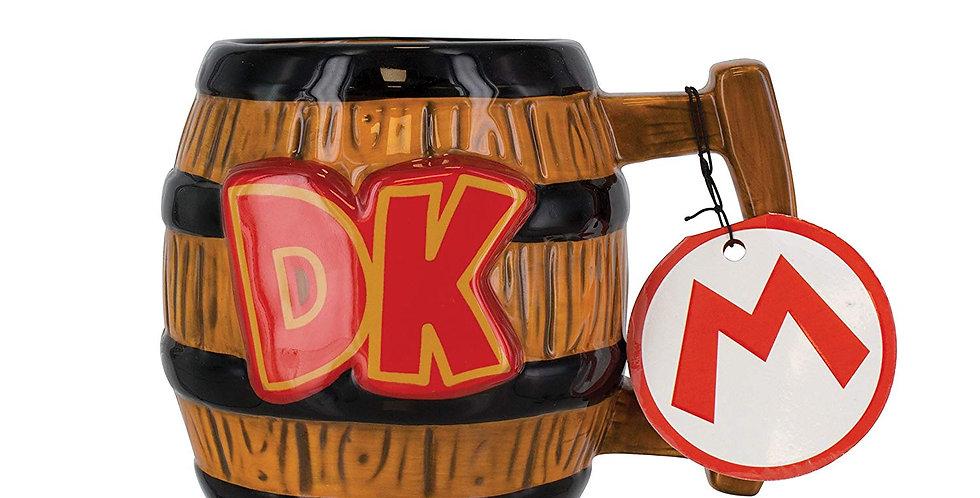 Super Mario Donkey Kong Shaped Mug (Ceramic)