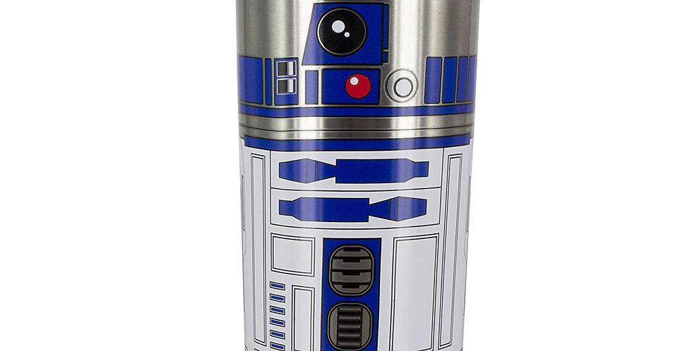Star Wars: The Last Jedi The Last Jedi R2-D2 Travel Mug (Brushed Steel)