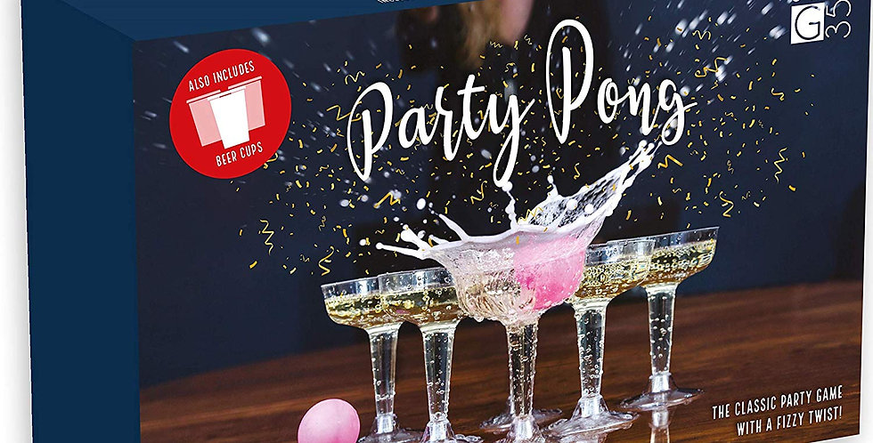 Party Pong Prosecco Drinking Game