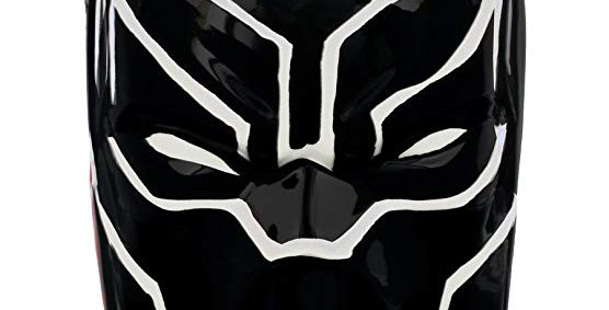 Black Panther Marvel 3D Shaped Mug (Official Merch)