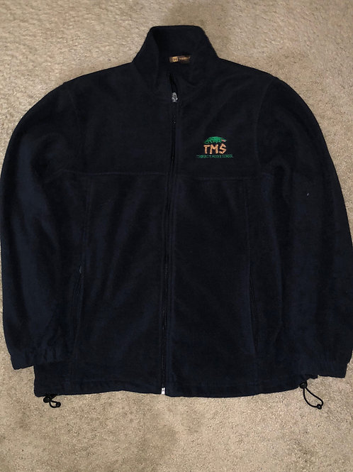 Polar Fleece Zip Front Jacket