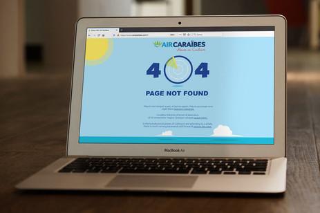 404 page - AirCaraïbes