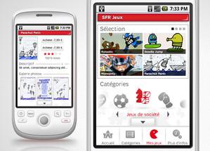 Application Jeux SFR
