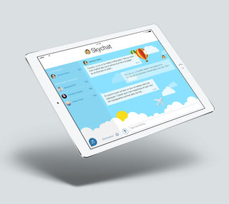 Création template pour Skychat