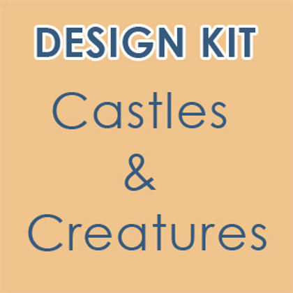 Design Kit: Castles & Creatures  (accompanies our online class)