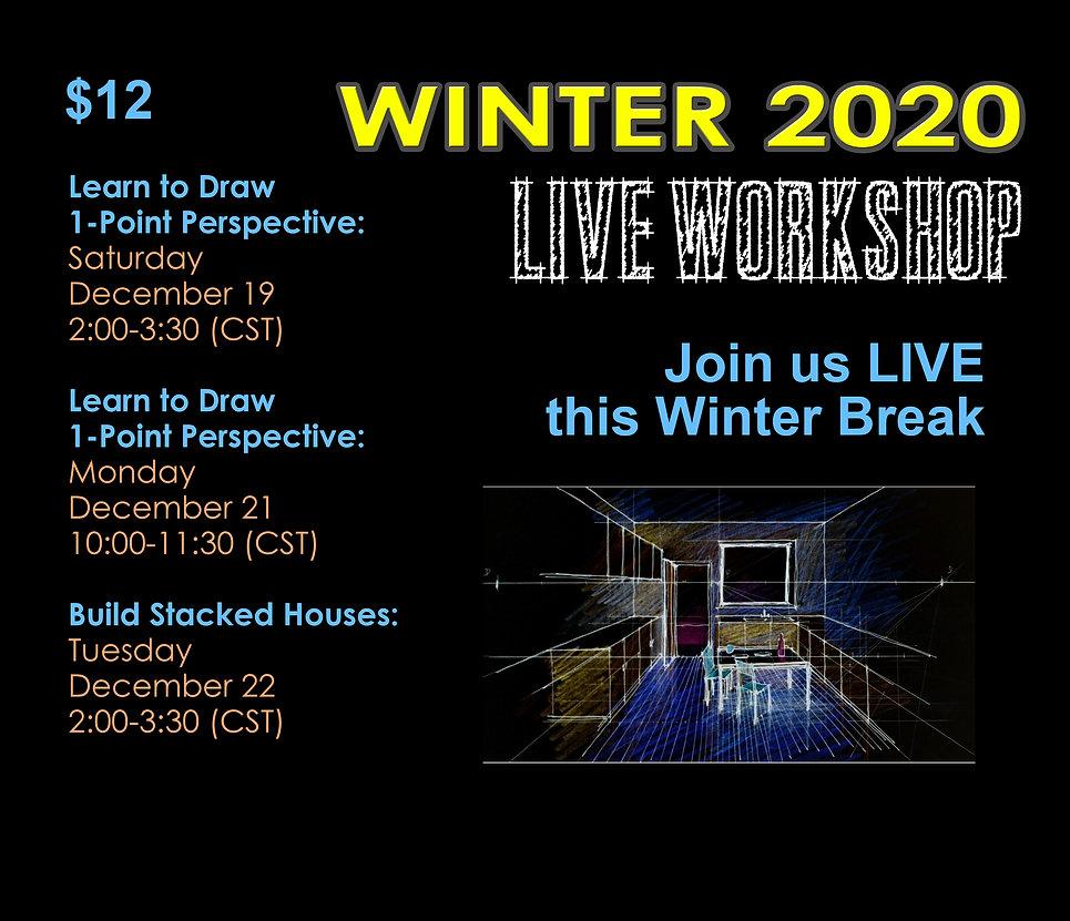 Winter Break Live  2020 Registration Pos
