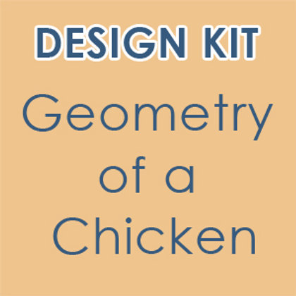 Design Kit: Cubism/Geometry of a Chicken  (accompanies our online class)