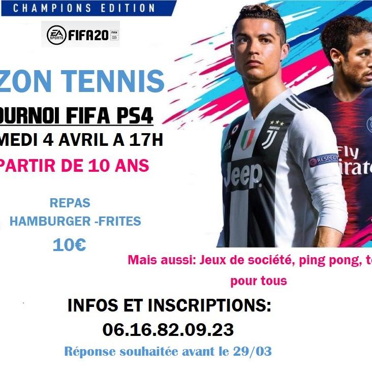 TOURNOI FIFA PS4