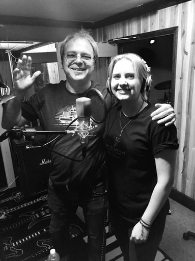 In the studio with Mark Dreyer
