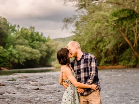 Mulberry River Engagement Session | Oark Arkansas