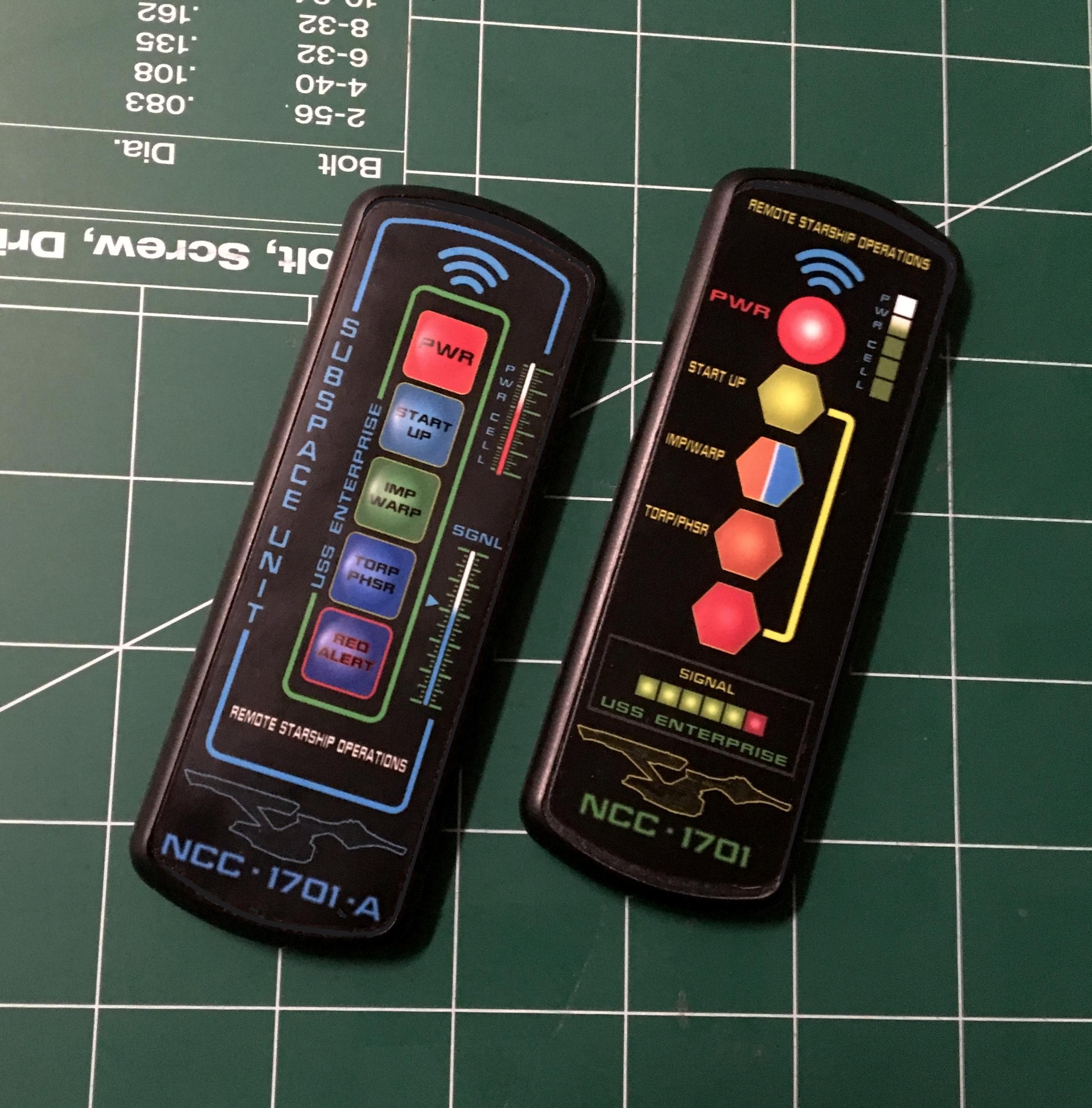 tmg-12 custom remote controls