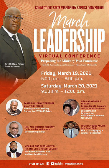 March 2021 Leadership Virtual Conference