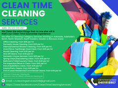 Clean Time Cleaning Services