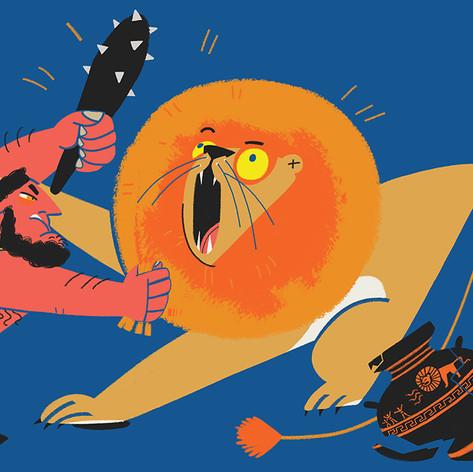 Hercules and Nemean Lion