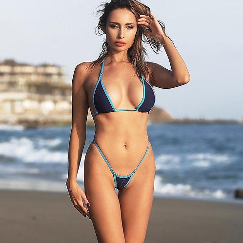 Сексуальное откровенное мини бикини Горячий раздельный купальник Экстрим стринги