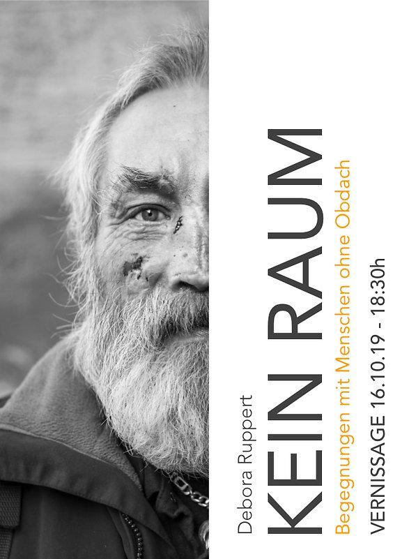 KEIN RAUM - Ausstellung - Obdachlosen Portraits