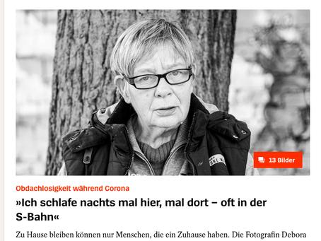 """DER SPIEGEL - """"Zu Hause bleiben kann nur wer eins hat!"""""""