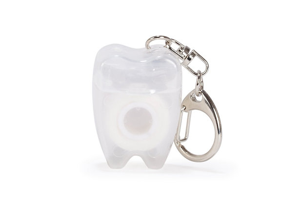 Tooth Floss Keychain