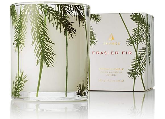 Frasier Fir: Pine Needle Glass Candle