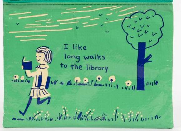 Long Walk Library - Zipper Pouch