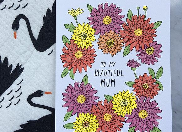 Beautiful Mum Card