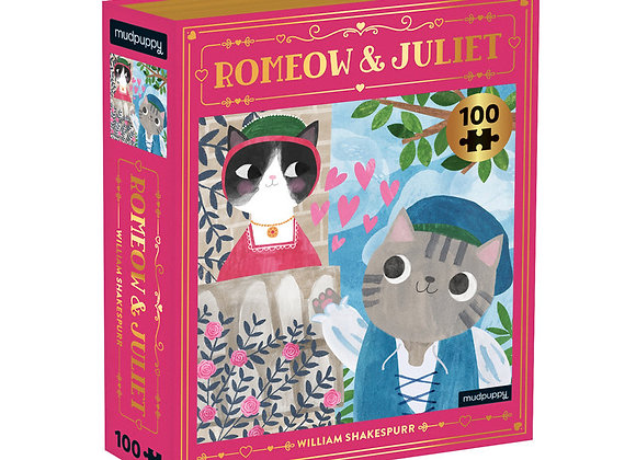 Romeow & Juliet - 100 pc puzzle