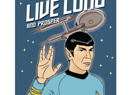 Live Long And Prosper Card by The Found