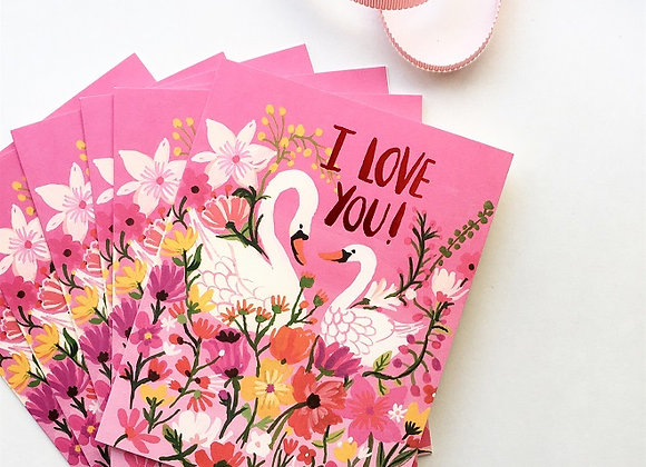 Two In Love Card