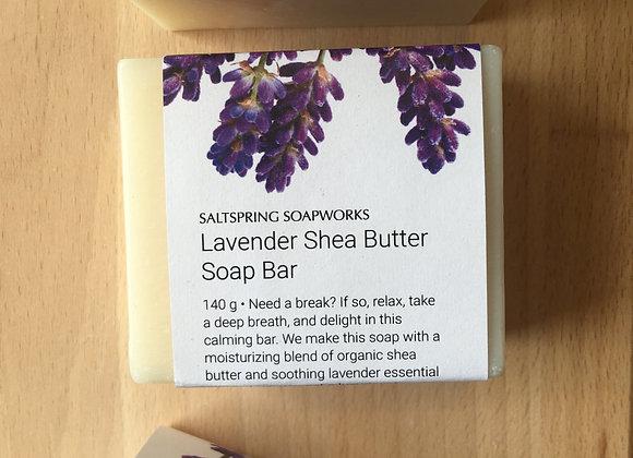 Lavender Shea Butter Soap Bar