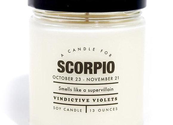 Astrology Candle Scorpio