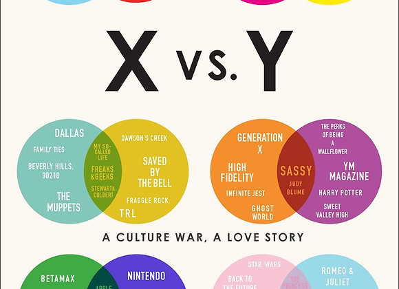 X vs.Y: A Culture War a Love Story - Book