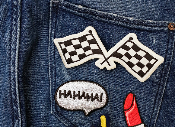 Girl Power Iron-On Patches