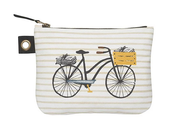 Zip Pouch Large - Bicicletta
