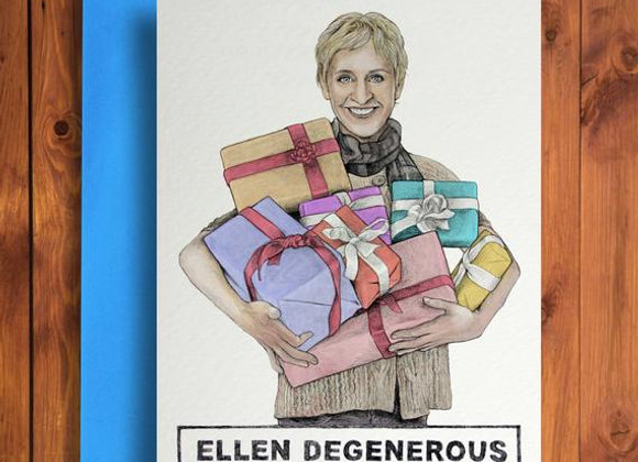 Modesty Designs - Ellen Degenerous Card