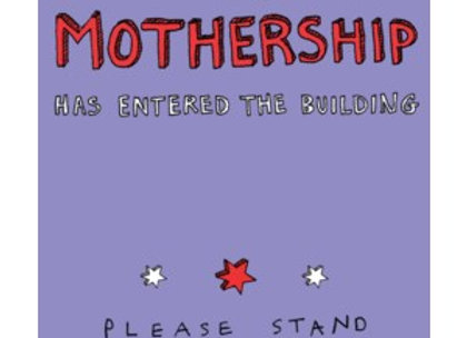 Mothership Mother's Day Card