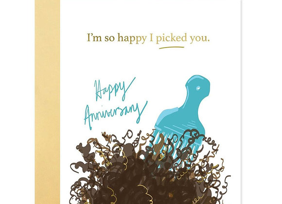 Picked You Card