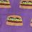 Thumbnail: Women's Crew Cute Burgers