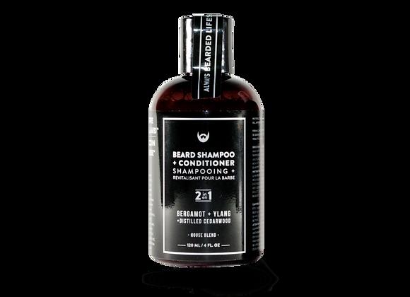 Beard Shampoo & Conditioner Bergamot & Ylang With Distilled Cedarwood