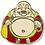 Thumbnail: @145 Enamel Pin Laughing Buddha
