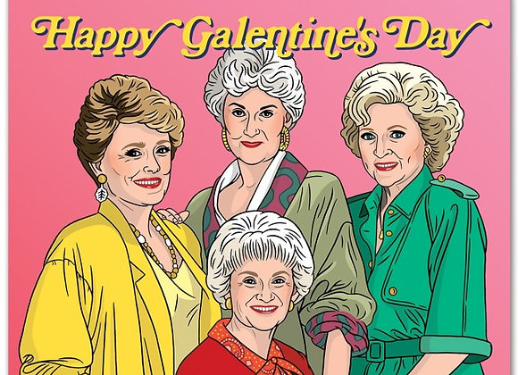 Happy Galentine's Day GG Card