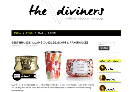 FEATURED ON THE DIVINERS!