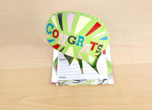 Congrats Pop Up Balloon