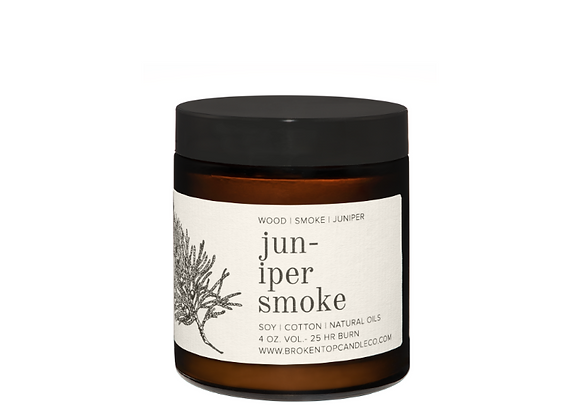 Juniper Smoke Soy Candle