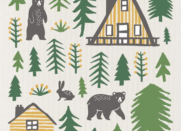 Wild Life Ecologie Swedish Sponge Cloth