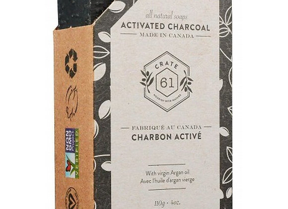 Crate 61 Activated Charcoal Soap